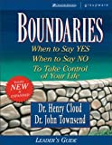 Boundaries Leader's Guide (0310224527) by Cloud, Henry