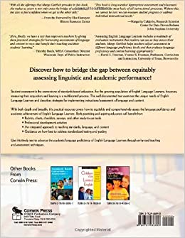 assessing english language learners This section addresses the critical questions of how to properly assess and place  english language learners (ells) at the school-wide and classroom level.