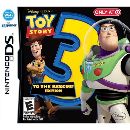 Toy Story 3: The Video Game (To The Rescue Edition) (Nintendo DS)