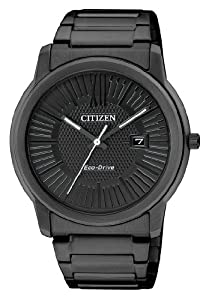 Citizen Herren-Armbanduhr XL Analog Quarz Edelstahl beschichtet AW1215-54E