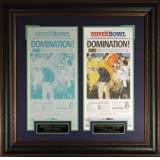 "SEATTLE SEAHAWKS Seattle Times Printing Press Plate ""DOMINATION"" SUPER BOWL XLVIII by West Coast Sport"