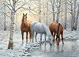 Winter Trio 1000 piece Puzzle