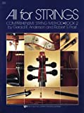 79CO - All For Strings Book 2: Cello (0849732379) by Robert Frost
