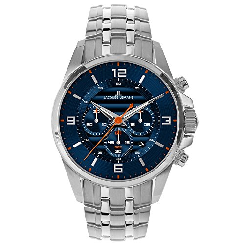 2ee5a03d54bf Jacques Lemans reloj hombre Sport Liverpool cronógrafo 1-1799H