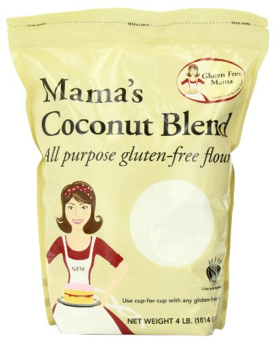 Gluten free mama mama 39 s coconut blend flour all purpose for Atkins cuisine all purpose baking mix where to buy