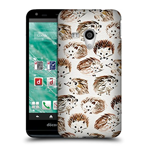 Official Cat Coquillette Hedgehogs Animals Hard Back Case for Sharp Aquos EX SH-02F (Sharp Aquos Phone Case Cat compare prices)