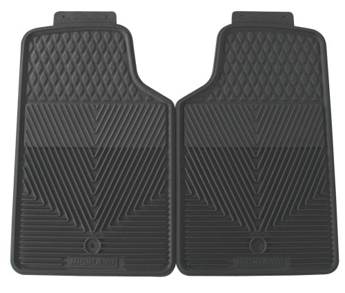 Highland 4502600 All-Weather Gray Front Seat Floor Mat front-929721