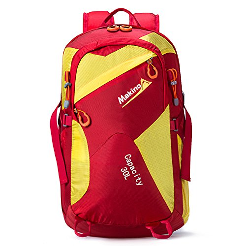 les hommes et les femmes en plein air multifonctions sac à dos / sac à bandoulière / sac à dos équitation / sac d'alpinisme-Gros rouge 30L