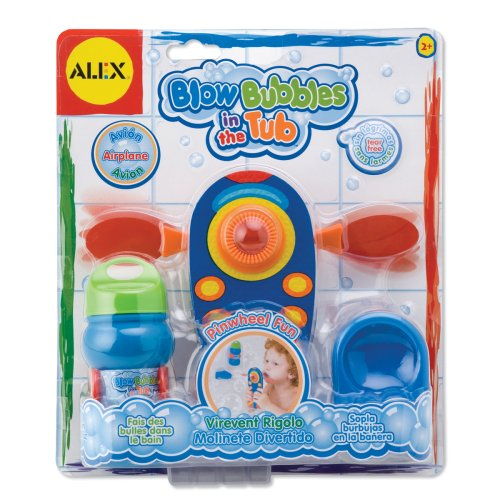 ALEX Toys Blow Bubbles in the Tub, Airplane - 1