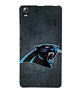 Vizagbeats Blue panther Back Case Cover for Lenovo A 7000
