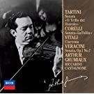 Arthur Grumiaux - Tartini.Corelli.Vitali.Veracini:Sonatas [Japan LTD CD] UCCD-9814