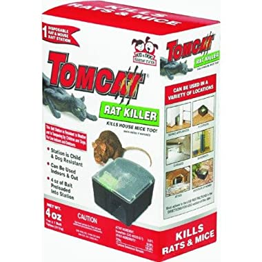 Motomco LTD 22580 Tomcat Mouse & Rat Bait Station