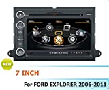 CAR DVD navigation For Ford Explorer 2006-2011 with A8 chipset/POP/SWC/3G/WIFI/BT/20CDC Disc player