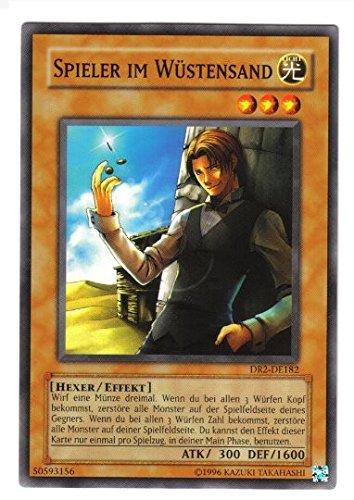 DR2-DE182 Spieler im Wüstensand im Set mit original Gwindi Kartenschutzhülle