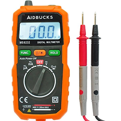 Aidbucks-MS8232-Multimeter-Digital-Auto-Ranging-Non-Contact-Voltage-Detector-Electrical-Multi-Circuit-Volt-Tester-ACDC-Battery-Tester-Ammeter-Voltmeter-Current-Resistance-Test-Meter-Tool-With-Backlit