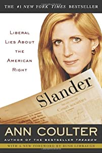 "Cover of ""Slander: Liberal Lies About the..."