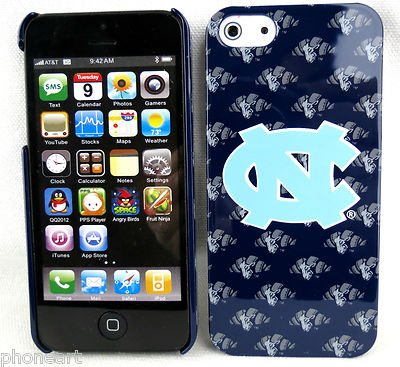 iPhone 5 North Carolina Tarheels Mascot Deluxe NCAA Case Snap On Cover at Amazon.com