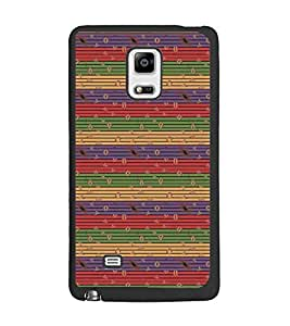 PrintDhaba Pattern D-5364 Back Case Cover for SAMSUNG GALAXY NOTE EDGE (Multi-Coloured)