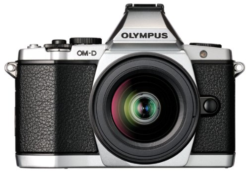 Olympus OM-D E-M5 Mirrorless Camera Kit with 12-50mm f/3.5-6.3 Lens (Silver)