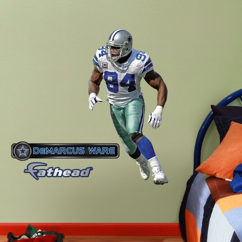 Nfl Dallas Cowboys Demarcus Ware Junior Wall Graphics
