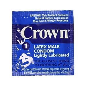 100 Okamoto Crown Condoms, World Famous Super Thin and Sensitive Condom, for Extra Sensation