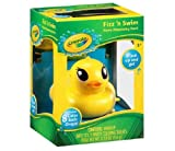 Crayola swim n Fizz dispenser duck - bath toy that colors water