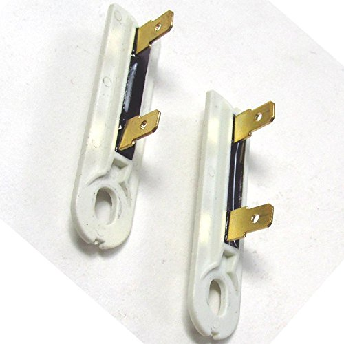 ( 2 PACK ) AP3132867 - DRYER THERMAL FUSE for Whirlpool Kenmore Sears Maytag Roper KitchenAid Amana Admiral and others - Thermofuse located on Blower wheel cover area (Thermal Fuse For Roper Dryer compare prices)