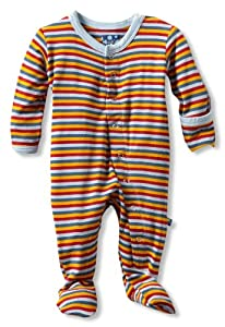 Kicky Pants Baby Stripe Footie