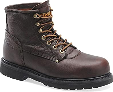 Carolina Men's Dry-Lex Safety Dark Brown Leather Boot 7 D US