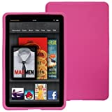 Skque Pink Silcone Skin Case Of Amazon Kindle Fire