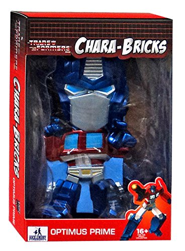 "Transformers Chara-Bricks Optimus Prime Exclusive 7"" Viny Figure"