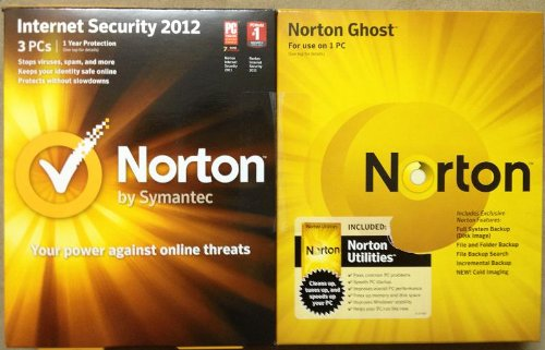 Norton Triple Bundle 2012- 3 Users on Internet