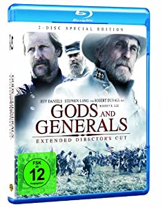 Gods and Generals (Extended Director's Cut) (Blu-ray) (2003) (Region2) (Import)