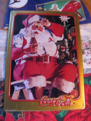 1935 Coca-Cola Santa Card (1994 Limited Edition Metal Card)