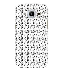 EPICCASE orchestra Mobile Back Case Cover For Samsung J2 2016 (Designer Case)