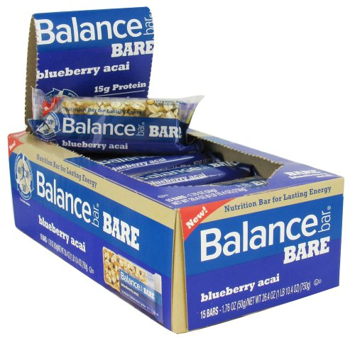 Balance Bar Bare Nutrition Bar Blueberry Acai