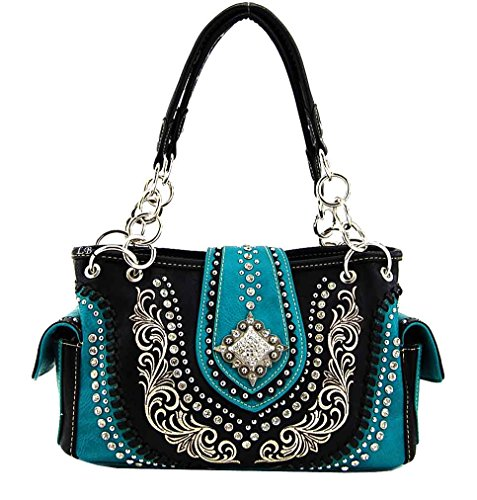Montana West Purse, Concho Concealed Handgun Collection, NEW 2015 (Black)