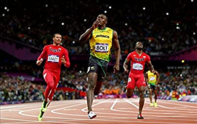 039 Usain Bolt 22x14 inch Silk Poster Aka Wallpaper Wall Decor By NeuHorris