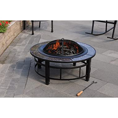 Product Image Granite Firepit Round – 34""