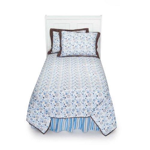 Polka Dot Twin Bedding 668 front