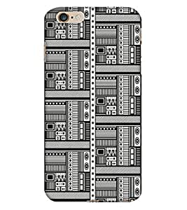 Print Haat Back Cover for iPhone 6 Plus 6S Plus (Multi-Color)