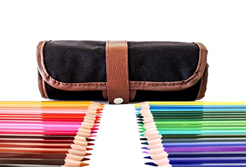 Adult-Coloring-Pencils-With-Case-48-Artist-Pencil-Kit-Roll-Up-Canvas-Pouch-Art-Supplies-For-SketchingDrawingColoring-Books-For-KidsAdults-Quality-Set-With-Sharpener-Large-Variety-Of-Colors
