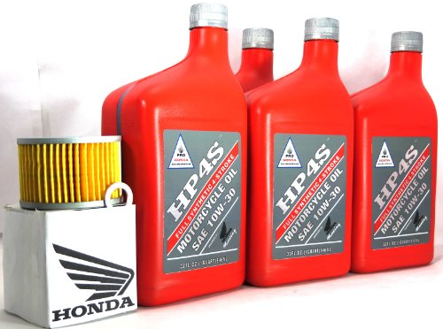 2009 Honda Hp4S Muv700 Big Red Oil Change Kit front-630386