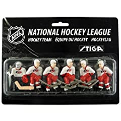 NHL Carolina Hurricanes Table Top Hockey Game Players Team Pack by Stiga