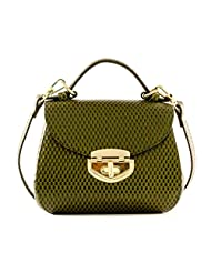 Skive By Sonali Women's Sling Bag Olive Green (S115005OGR)