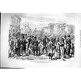 1877 の戦争のロシア帝国監視行進のブカレスト
