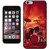 Rocking Rock Band Drum Set with Cymbals Hard Case for Apple iPhone 6