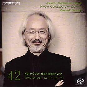 Herr Gott, dich loben wir, BWV 16: Recitative: Ach treuer Hort (Alto)
