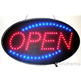 "LED Neon Light Open Sign With Animation On/off and Power On/Off two Switchs for Business By ""E Onsale"""