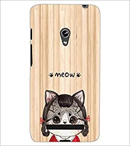 PrintDhaba Cartoon D-5811 Back Case Cover for ASUS ZENFONE 5 A501CG (Multi-Coloured)